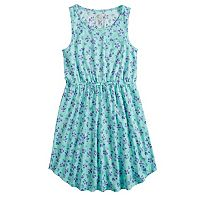 Girls 7-16 SO® Printed Dress