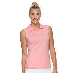 Women's FILA SPORT® Solid Sleeveless Polo
