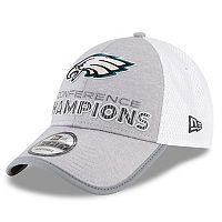 Adult New Era Philadelphia Eagles 2017 NFC Champions 9Forty Adjustable Cap