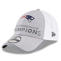 Adult New Era New England Patriots 2017 AFC Champions 9Forty Adjustable Cap