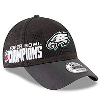 Adult New Era Philadelphia Eagles Super Bowl LII Champions Locker Room 9FORTY Adjustable Cap