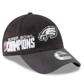 Adult New Era Philadelphia Eagles Super Bowl LII Champions Locker Room 9FORTY Adjustable Cap