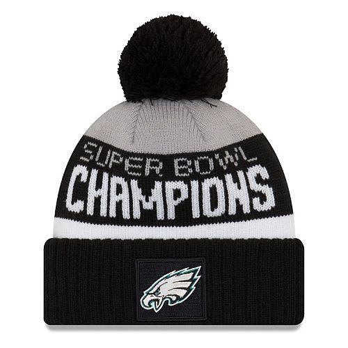 0b604d65d Adult New Era Philadelphia Eagles Super Bowl LII Champions Knit Beanie
