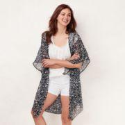 Women's LC Lauren Conrad Bella Greenport Floral Kimono