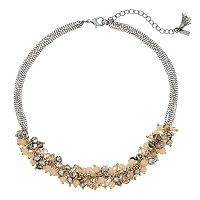 Simply Vera Vera Wang Beaded Cluster Statement Necklace