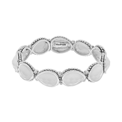 Napier Teardrop Link Stretch Bracelet