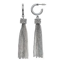 Simply Vera Vera Wang Two Tone Chain Nickel Free Tassel Drop Earrings