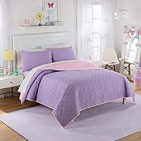 Waverly Kids Framework Reversible Quilt Set