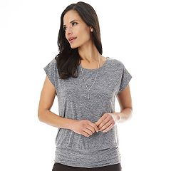 Women's Apt. 9® Strappy Banded Tee