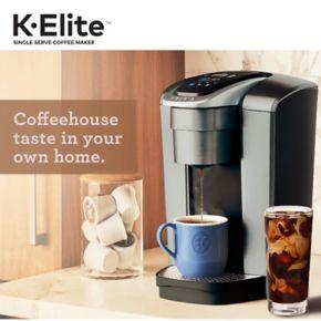 Keurig® K-Elite™ Single-Serve K-Cup® Pod Coffee Maker