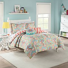 Waverly Kids Wild Card Reversible Comforter Set