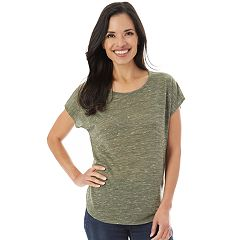 Women's Apt. 9® Crochet Back Tee