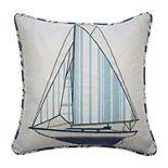 Waverly Kids Set Sail Embroidered Throw Pillow
