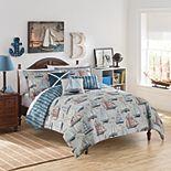 Waverly Kids Set Sail Reversible Comforter Set