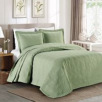 Fashion Street Kingston 3 pc Bedspread Set