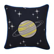 Waverly Kids Space Adventure Embroidered Throw Pillow