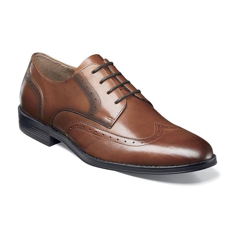 Nunn Bush Sherwood Men S Wingtip Dress Shoes Size 14 Med Red