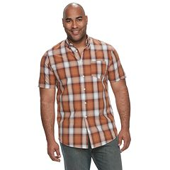 Big & Tall Urban Pipeline™ Awesomely Soft Regular-Fit Plaid Button-Down Shirt
