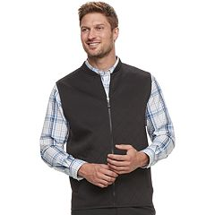 Men's Haggar Regular-Fit In-Motion Stretch Vest