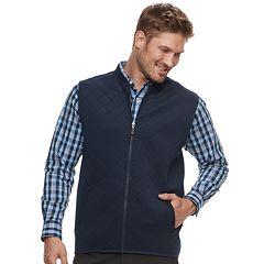 Men's Haggar Regular-Fit In-Motion Stretch Vest