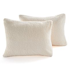 The Big One® Cut Faux Fur 2-pack Standard Pillow Covers