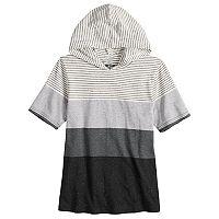 Boys 8-20 Urban Pipeline® Striped Hooded Tee