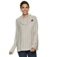 Women's Napa Valley Cowlneck Buckle-Detail Dolman Sweater