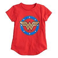 Toddler Girl Jumping Beans® DC Comics Wonder Woman Glittery Graphic Tee