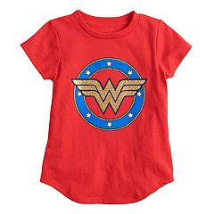 Toddler Girl Jumping Beans® DC Comics Wonder Woman Glittery Graphic Tee