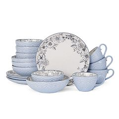 Pfaltzgraff Gabriela Gray 16-pc. Dinnerware Set