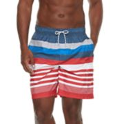 Men's Croft & Barrow® Home Free Striped Swim Trunks