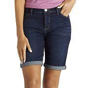 Women's Lee Kiki Roll-Cuff Bermuda Jean Shorts