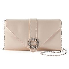 Gunne Sax by Jessica McClintock Riley Satin Crossbody Clutch