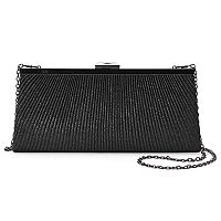 Gunne Sax by Jessica McClintock Sloan Pleated Crossbody Clutch