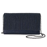 Gunne Sax Priscilla Pleated Crossbody Clutch