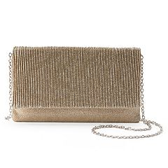 Gunne Sax by Jessica McClintock Priscilla Pleated Crossbody Clutch