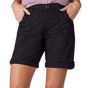 Women's Lee Melody Poplin Roll-Cuff Bermuda Shorts