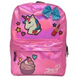Kids JoJo Siwa Unicorn, Cupcake, Bow & Lipstick Backpack