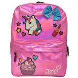Kids JoJo Siwa Unicorn, Cupcake, Bow & Lipstick Backpack