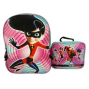 Kids Disney / Pixar The Incredibles 2 Violet Backpack & Lunchbox Set