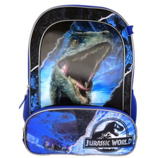 Kids Jurassic World Backpack, Lunchbox, Cinch Sack, Pencil Case & Water Bottle Set