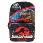 Kids Jurassic World Backpack & Lunchbox Set