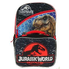 Kids Jurassic World Backpack & Lunchbox Set