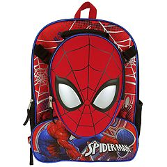 Kids Marvel Spider-Man Backpack & Lunchbox Set