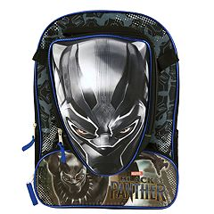 Kids Marvel Black Panther Backpack & Lunchbox Set