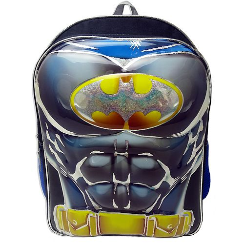 Kids DC Comics Batman Molded Muscle Backpack