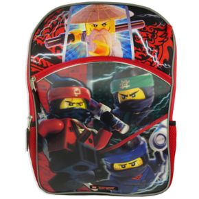 Kids Lego Ninjago Backpack, Lunchbox, Cinch Sack, Pencil Case & Wallet Set