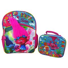 9d6765fd3cd Kids DreamWorks Trolls Poppy Backpack   Lunchbox Set