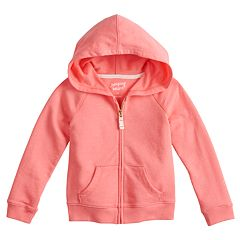 Baby Girl Jumping Beans® Glitter Hoodie