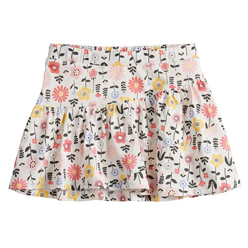 Baby Girl Jumping Beans® Printed Tiered Tulip Skort